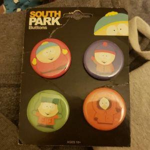 South Park buttons